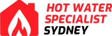 hot water specialist sydney logo