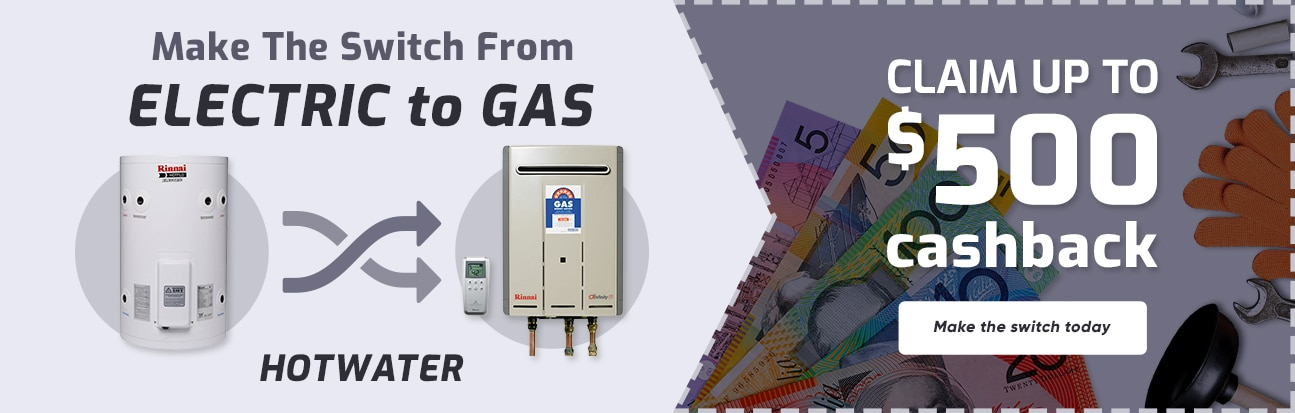 Gas Hot Water System Holsworthy